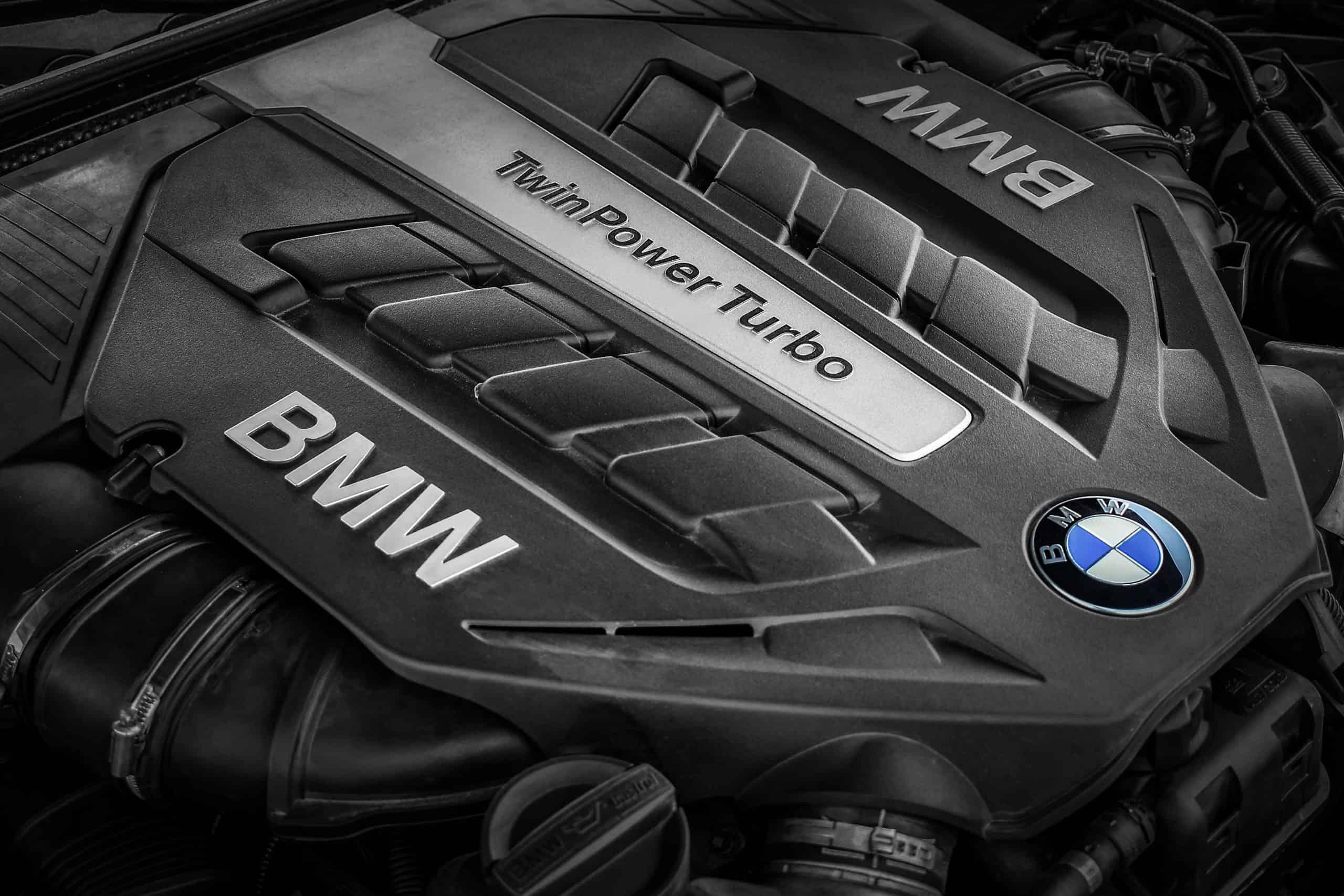 BMW twin power turbo engine